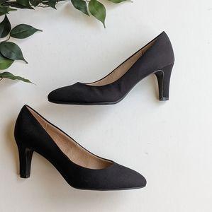 Abella True Comfort Galaxy Black Pump Heels